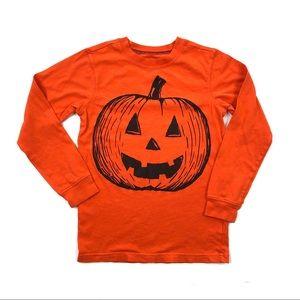 Carter's Halloween jack-o'-lantern tee boy girl 7